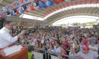 El candidato presidencial Germán Vargas Lleras creció 9. 4.