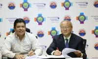 Doctor Pablo Vera Salazar, firmó con el doctor Yin Huachuan, rector de la Universidad de Ciencia y Tecnología de Chongqing de China, un convenio específico internacional en el que se formalizan las acciones a cooperar.