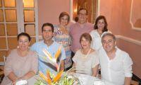 Luis Bozzo, Paloma Fernández, Adolfo Meisel, María Margarita Carbonel y Carmelo Vives.