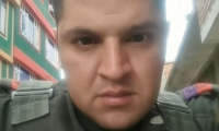 Juan Camilo Pulido, patrullero asesinado por expolicía.
