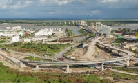 El Instituto Nacional de Vías  aprobó en las últimas horas la prórroga para la culminación de la obras del nuevo puente Pumarejo .