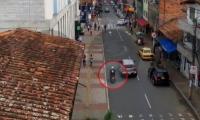 video en el que murió Carlos Areiza, alias 'Papo'.
