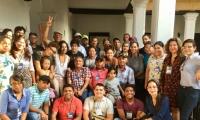 La actividad que se desarrolló en el marco de la Cátedra Abierta Rafael Celedón, sirvió de escenario para socializar entender los conflictos de pesca artesanal, marino costera y continental en nuestro país.