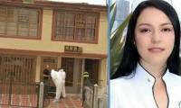 María Manuela Giraldo Montes, asesinada en esta vivienda de la capital de Caldas.
