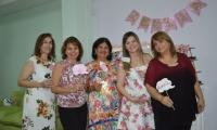 Omaira Gnecco, Marta Díaz Granados, Zahayra Palacios, Olga María Lacouture y Doris Aoun.