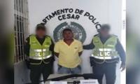 Presunto asesino de Meidis Martínez, en El Copey.