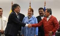 Las negociaciones se reanudarán luego de la jornada electoral para elegir presidente de la República.