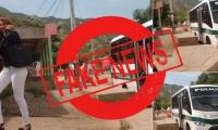 """Noticias falsa publicada por """"La Olla Samaria""""."""