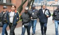 Sara Luz y Carlos Jiménez Otálvarez, presuntos asociados de Aida Merlano en la organización criminal de compra de votos en Barranquilla.