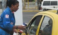 Los voluntarios estarán en varios puntos estratégicos en Santa Marta.