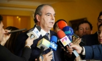 Aurelio Iragorri, director del partido de la U.