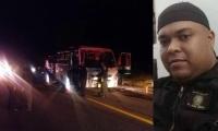 El accidente fue en carretera entre Tolima y Huila.