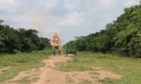 Estaba ubicada en el corregimiento de Media Luna, municipio de Pivijay, Magdalena.