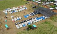 Campamento del grupo Empresas Publicas de Medellín (EPM)