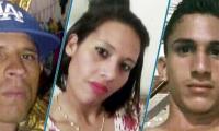 avier Alexander Hernández Leones (asesinado), Yareidy Saray Pimentel Rosario (capturada) y Alias el 'Junior' se encuentra huyendo de las autoridades.