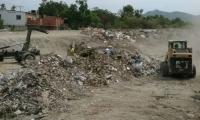 Han retirado 201 toneladas de residuos de construcción.