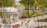 Borrador inicial del proyecto de peatonalización del Parque Centenario.