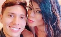 Marbelle y su novio, Sebastián Salazar.