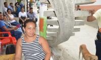 Ingrid Velásquez, mamá de la niña asesinada en Gaira.