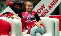 Angelina Makárova, niña con síndrome de Down.