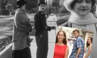 Charles Chaplin en un cortometraje que podría ser el precursor del conocido meme.