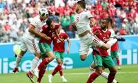 Irán y Marruecos protagonizaron un partido bastante flojo.