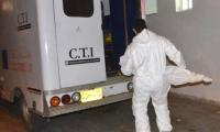 El CTI fue el encargado de hacer el levantamiento del cuerpo.