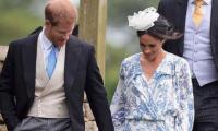 Los duques de Sussex en una boda este fin de semana.