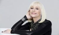 La cantante, actriz y presentadora italiana Raffaella Carrà