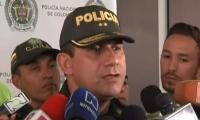 Brigadier general Óscar Gómez, comandante de la Policía Metropolitana del Valle de Aburrá.