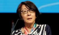 Representante de la UNISDR, Mami Mizutor.