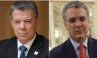Presidente Santos se reúne esta mañana con el Presidente electo Iván Duque.