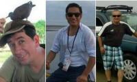 Periodistas ecuatorianos asesinados en la frontera.