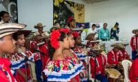 La Vicerrectoría de Extensión y Proyección Social de la Alma Mater, a través del Grupo de Investigación Análisis de Ciencias Económicas – GACE, organizó el evento, que contó en los actos protocolarios con el acompañamiento musical de los niños de la Fundación Cultural Popacha en el formato banda tradicional folclórica.