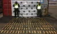 Cocaína incautada en el Puerto de Santa Marta, que tenía como destino Beirut, Líbano.