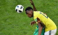 Yerry Mina marcó el gol al minuto 73.