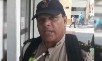 Líder del grupo ecológico Piensa Verde, Rafael Honorio García González.