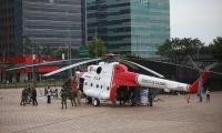 El helicóptero de la operación 'Jaque'.