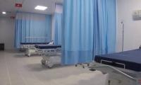 Una de las camas de la unidad de urgencias del hospital Fernando Troconis.
