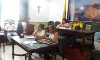 Mesa directiva de la Asamblea del Magdalena.