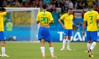 Brasil eliminado del Mundial de Rusia 2018.