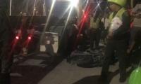 Accidente ocurrido en la Avenida del Ferrocarril