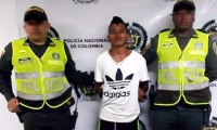 El joven fue conducido a la URI de la Fiscalía.