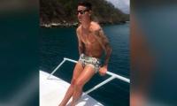 Esta fue la foto que subió en su instagram el jugador colombiano.