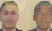Juan José Villalba Urdaneta y Samir Danovis Bovea los dos hombres que fueron arrollados por el tren.