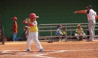 Los niños tienen su espacio en el béisbol distrital, durante julio y agosto.