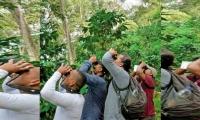 La visita de expertos en avistamiento de aves.