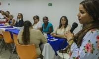 Mesa de Participación de Víctimas del Municipio de Girón, Santander, visitó a Santa Marta para realizar una jornada de intercambio de experiencias y hacer un recorrido por las instalaciones del CRAV.