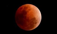 Hoy la luna se tornará rojiza.