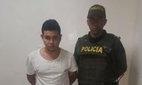 Stiver de Jesús Locarno Orozco, de 22 años de edad, capturado.